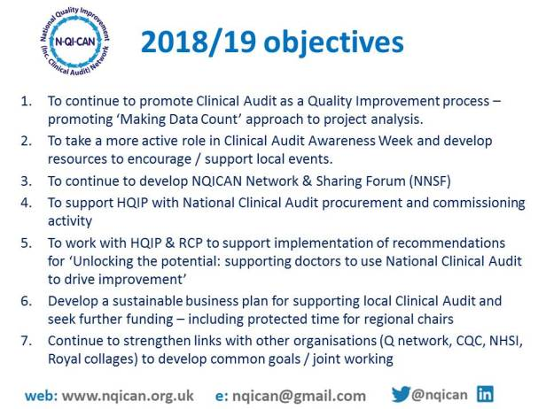 NQICAN priorities for 2018-19